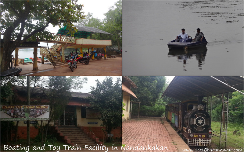 Boating and Toy Train facility in Nandankanan