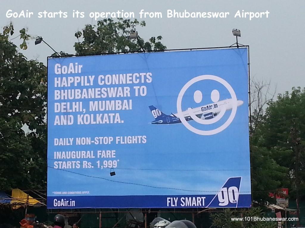 GoAir Starts Operation from Bhubaneswar Airport