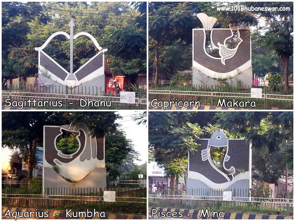 Dhanu, Makara, Kumbha, Mina