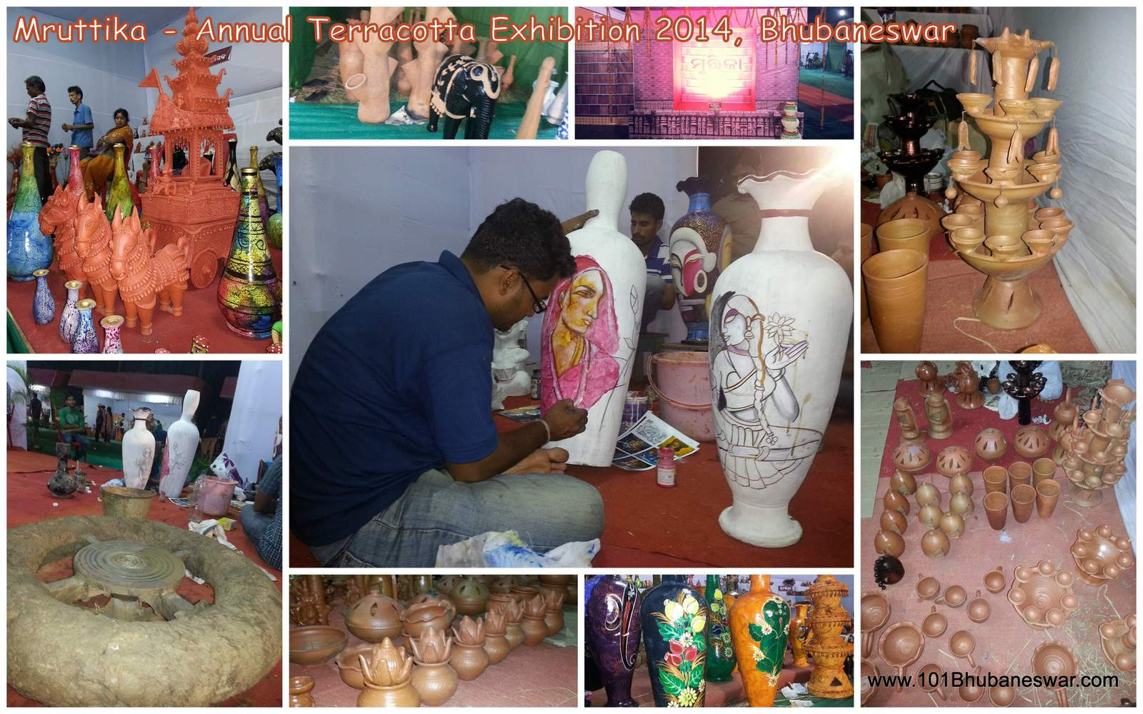 Mruttika, Annual Terracotta Exhibition 2014