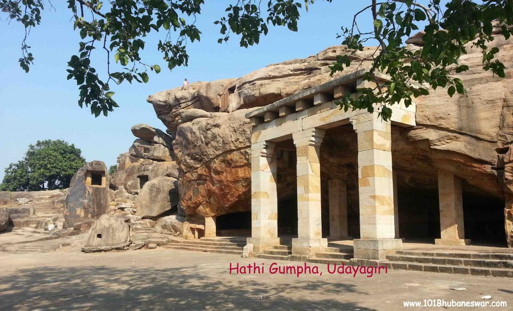 Hathi Gumpha, Udayagiri