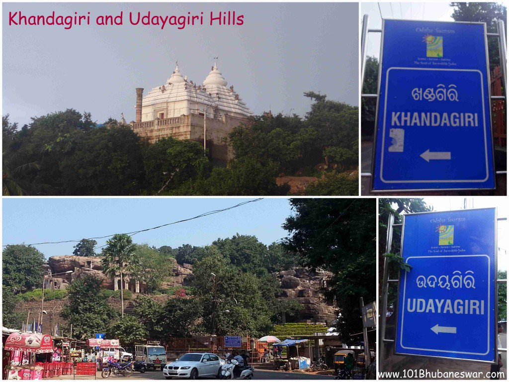 Khandagiri and Udayagiri Hill