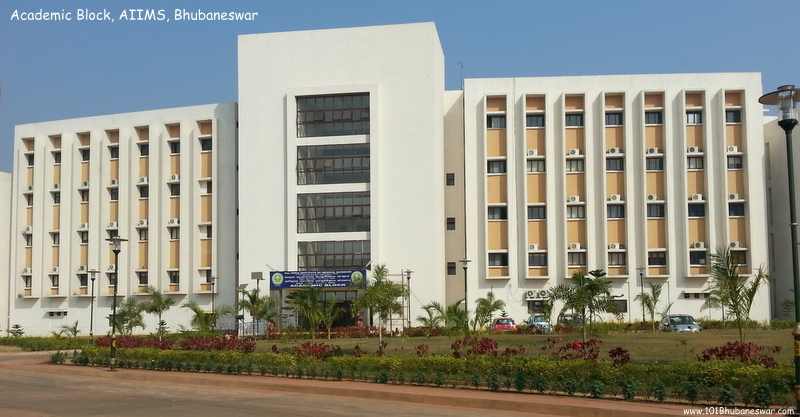 Academic Block, AIIMS, Bhubaneswar