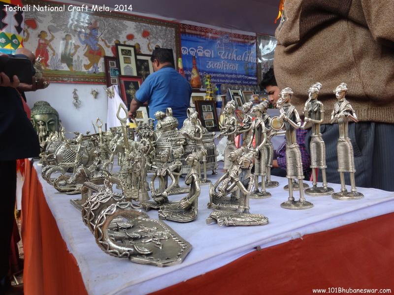 Toshali National Craft Mela, 2014 - Utkalika Stall