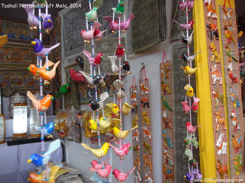 Toshali National Craft Mela, 2014 - Odisha Handcrafts Stall