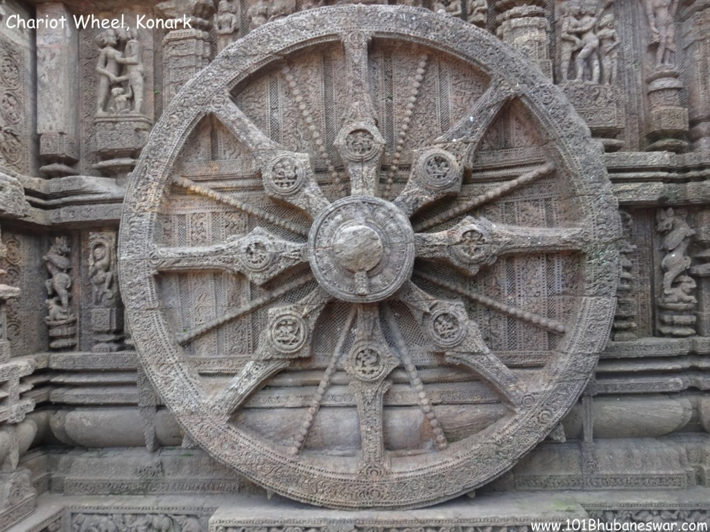 Chariot Wheel, Sun Temple
