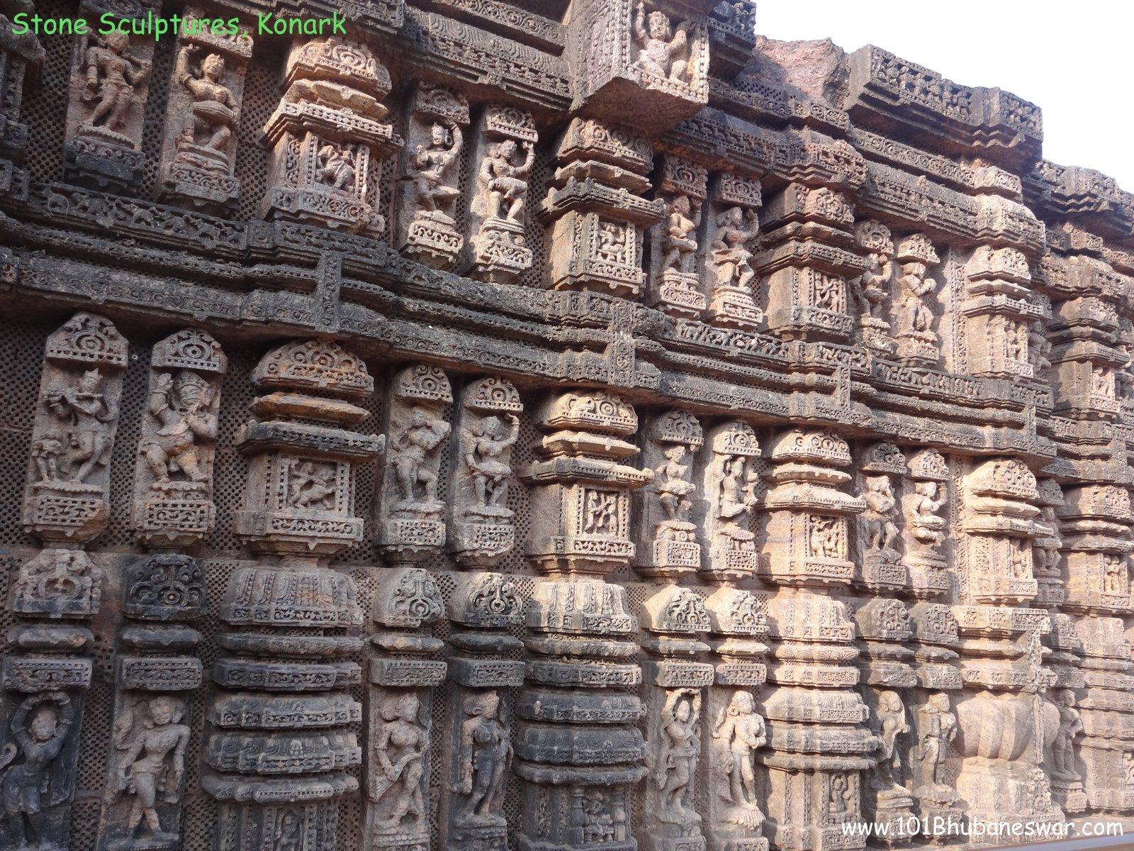 Stone Sculptures Sun Temple Konark