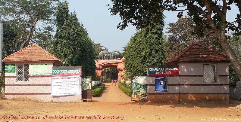 Godibari Entrance, Chandaka Dampara Wildlife Sanctuary