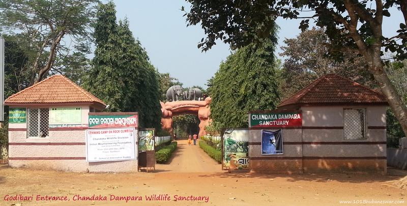 Godibari Entrance, Chandaka Dampara Wildlife Sanctuary