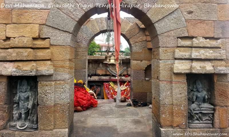 Devi Mahamaya, Chausathi Yogini Temple, Hirapur, Bhubaneswar