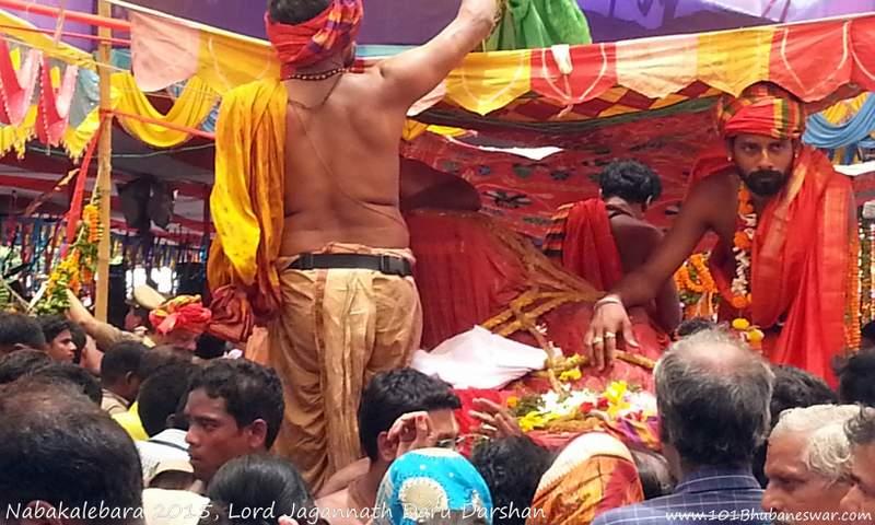 Nabakalebara 2015 Daru Darshan
