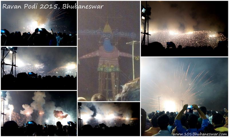 Ravan Podi 2015, Bhubaneswar