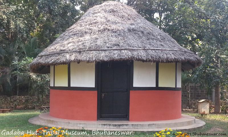 Gadaba Hut, Tribal Museum, Bhubaneswar