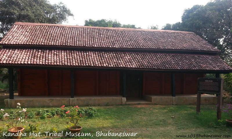 Kandha Hut, Tribal Museum, Bhubaneswar