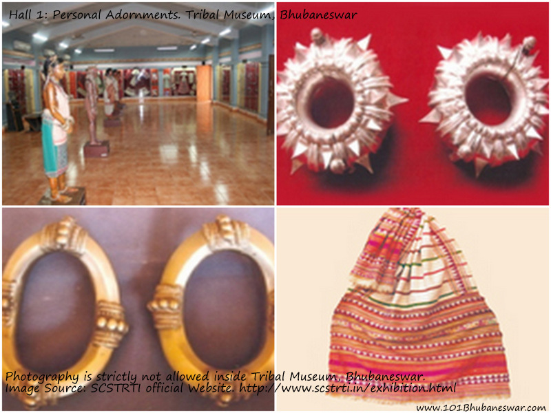 Hall 1: Personal Adornments. Tribal Museum, Bhubaneswar