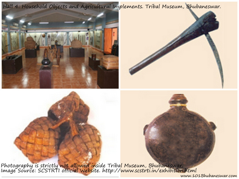 Hall 3: Hunting & Fishing Implements & Weapons of Offence and Defense. Tribal Museum, Bhubaneswar.