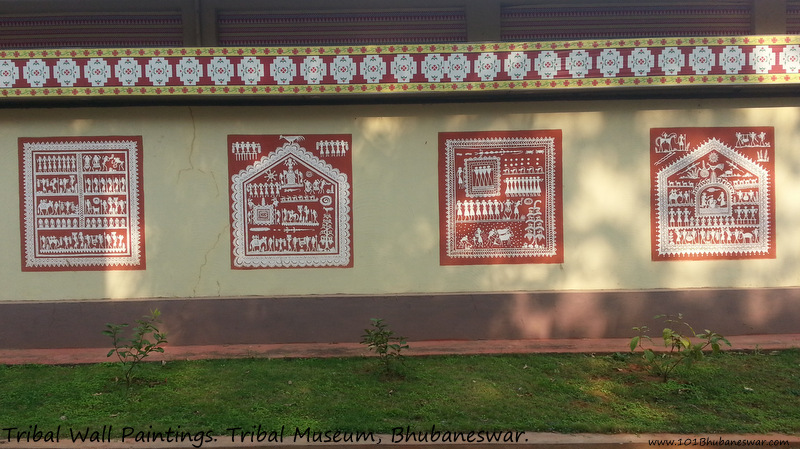 Wall Paintings, Tribal Museum, Bhubaneswar